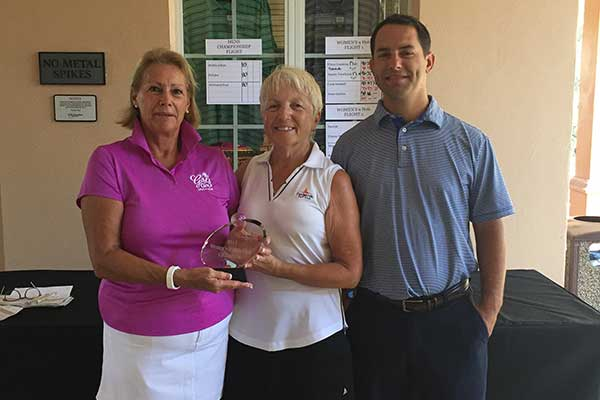 Candler Hills Golf Course 9 Hole Champion Eileen Gustavus