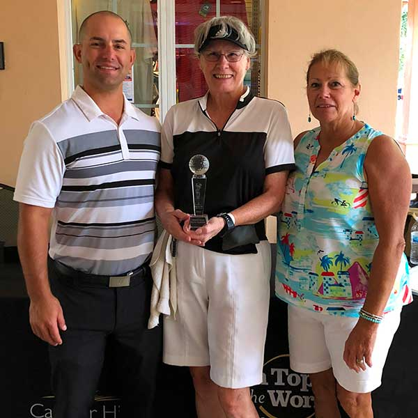 Candler Hills Golf Club Ladies 9 Hole Club Champion Kay Budd