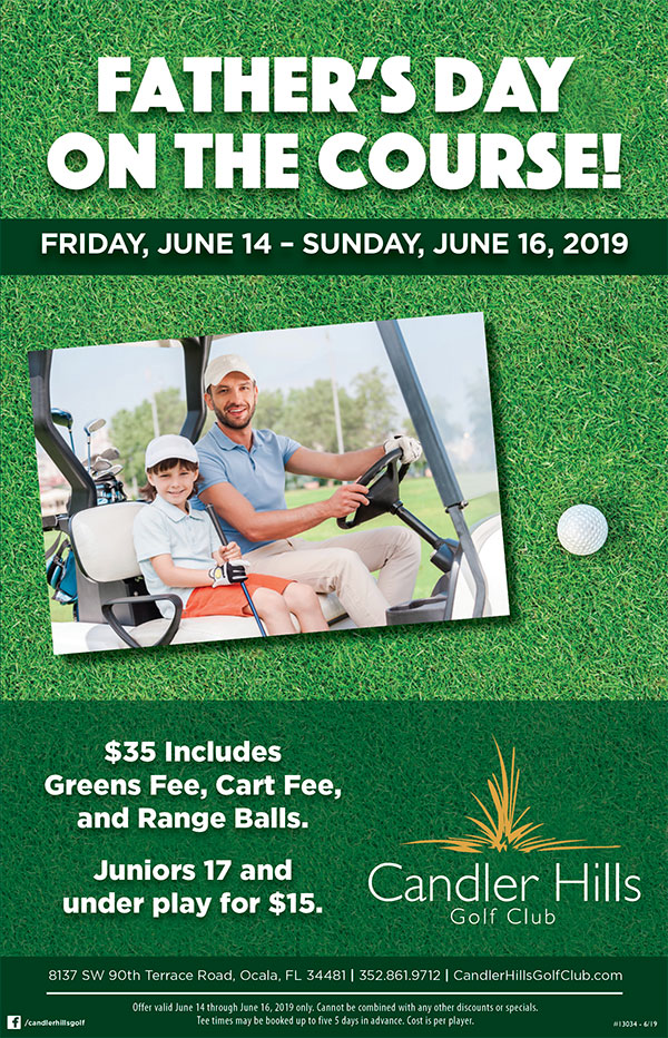 Father's Day at Candler Hills Golf Course